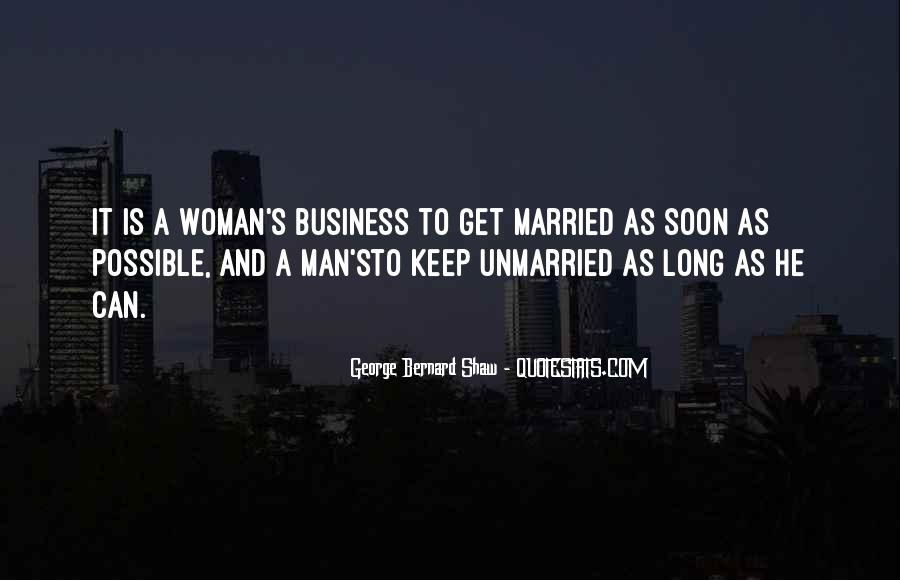Man And Woman Marriage Quotes #784219
