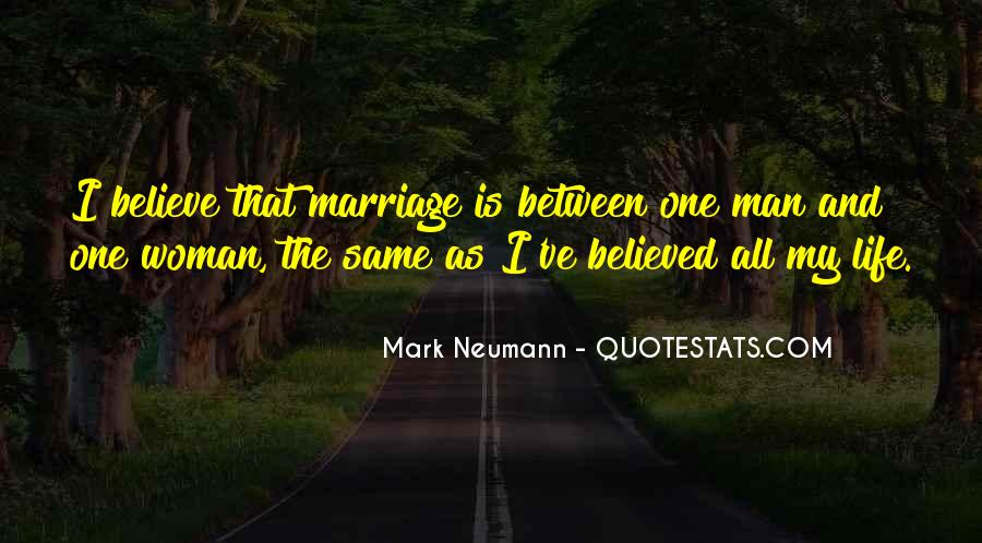 Man And Woman Marriage Quotes #909878