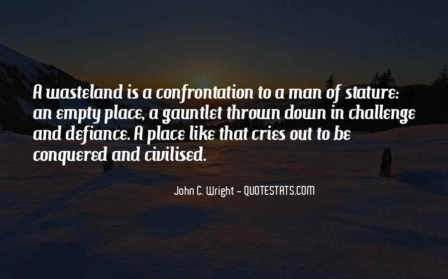 Man Cries Quotes #1026197