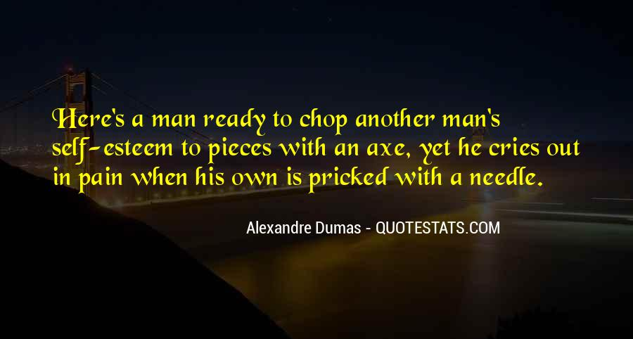 Man Cries Quotes #1544894