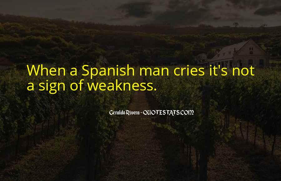 Man Cries Quotes #1562388