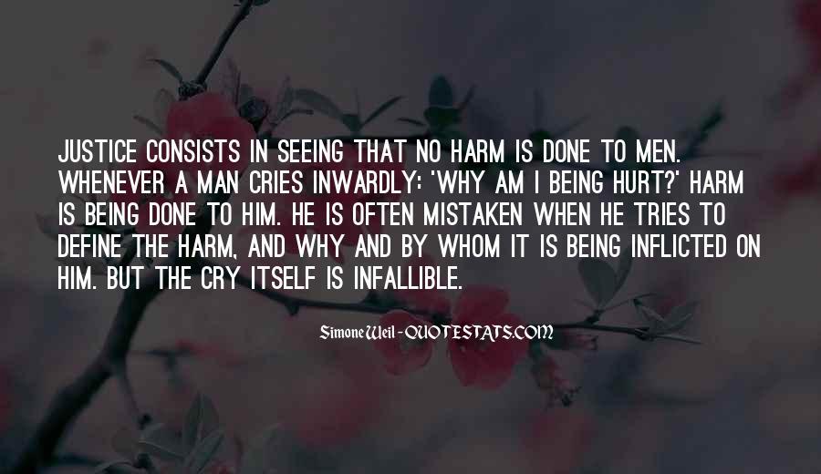 Man Cries Quotes #1580195