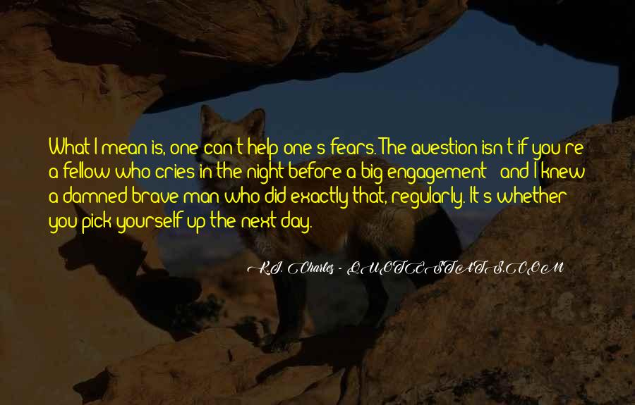Man Cries Quotes #1769284