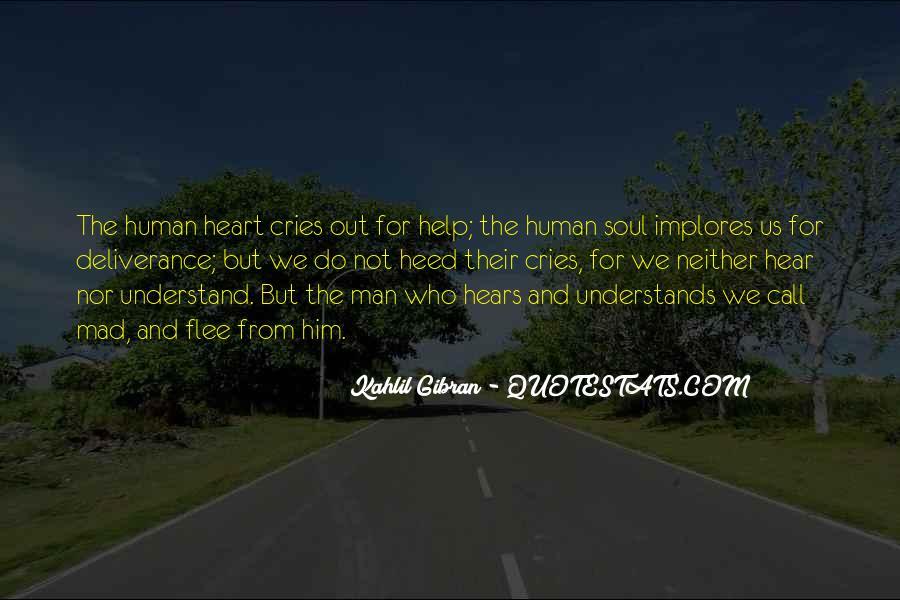 Man Cries Quotes #189230