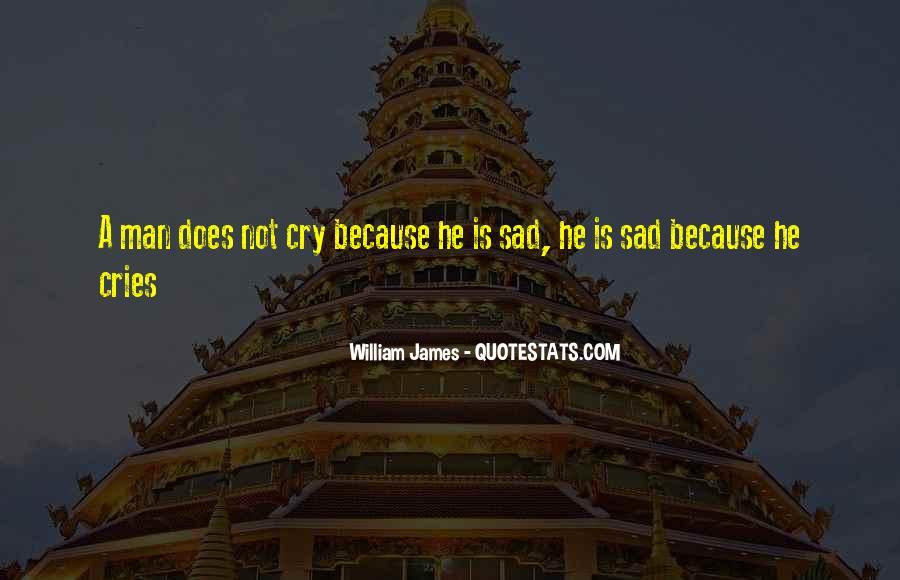 Man Cries Quotes #494140