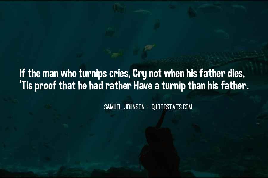 Man Cries Quotes #801405
