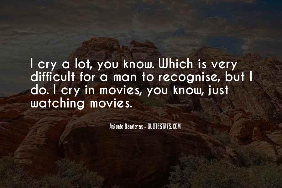 Man Cry Quotes #1180779