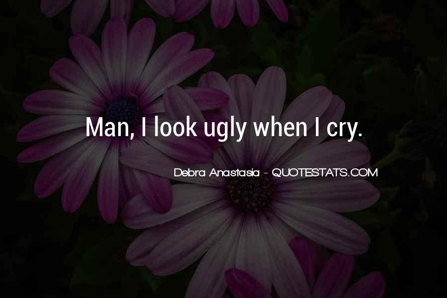 Man Cry Quotes #1224757
