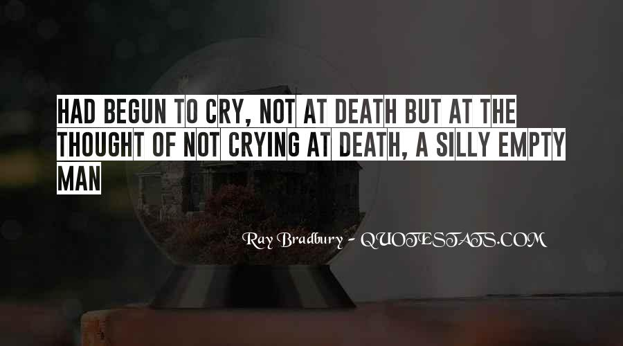 Man Cry Quotes #1246195