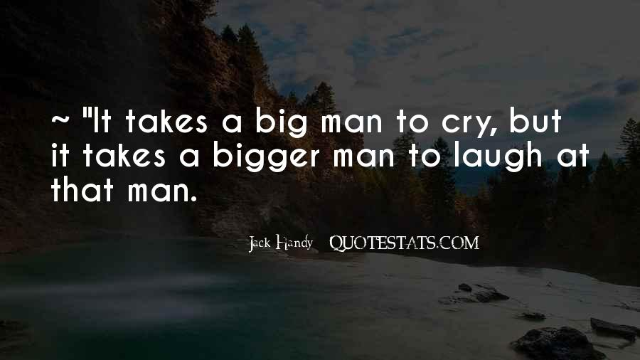 Man Cry Quotes #584785