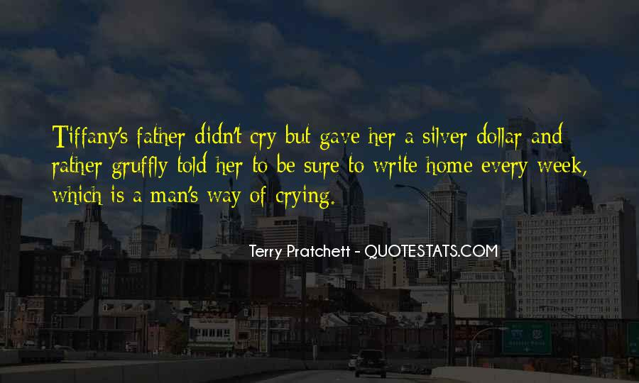Man Cry Quotes #762374