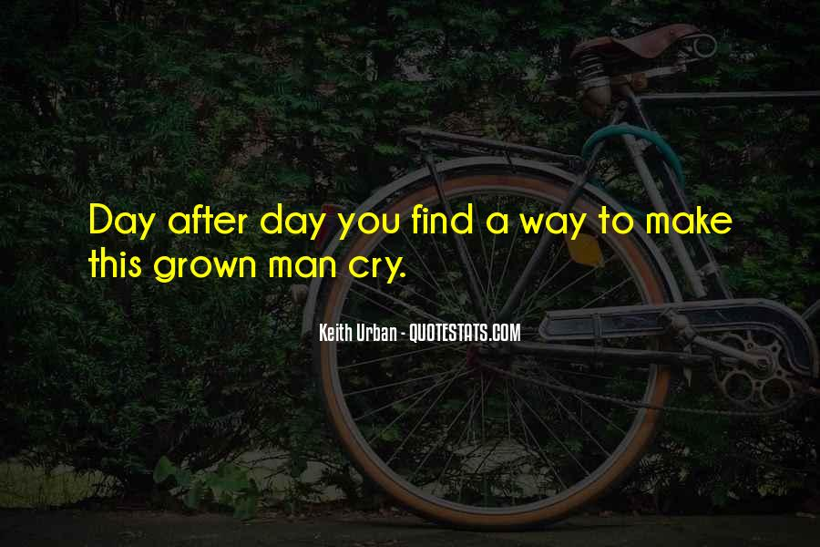 Man Cry Quotes #788144