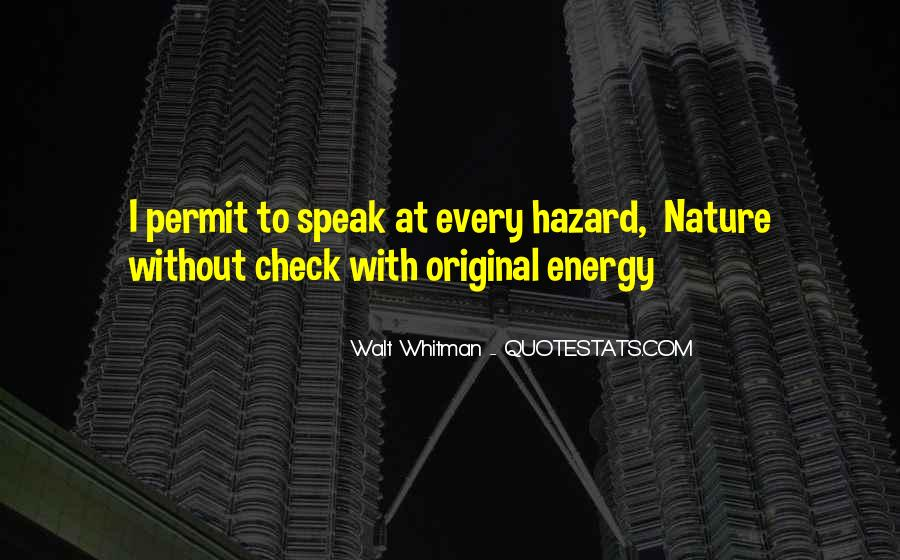 Man In Nature Quotes #1338
