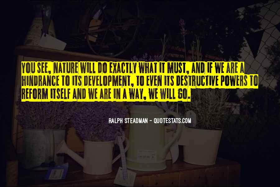 Man In Nature Quotes #1768