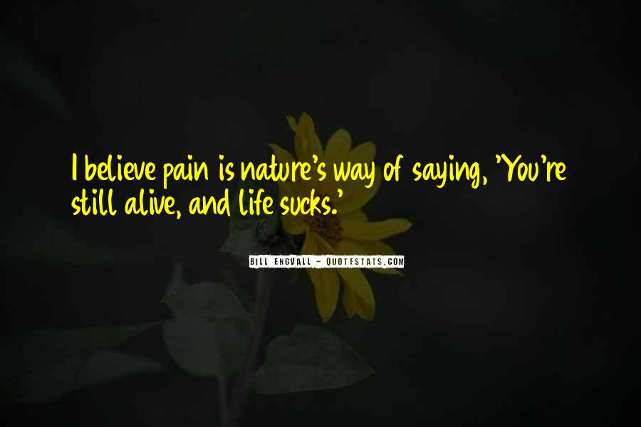 Man In Nature Quotes #3486