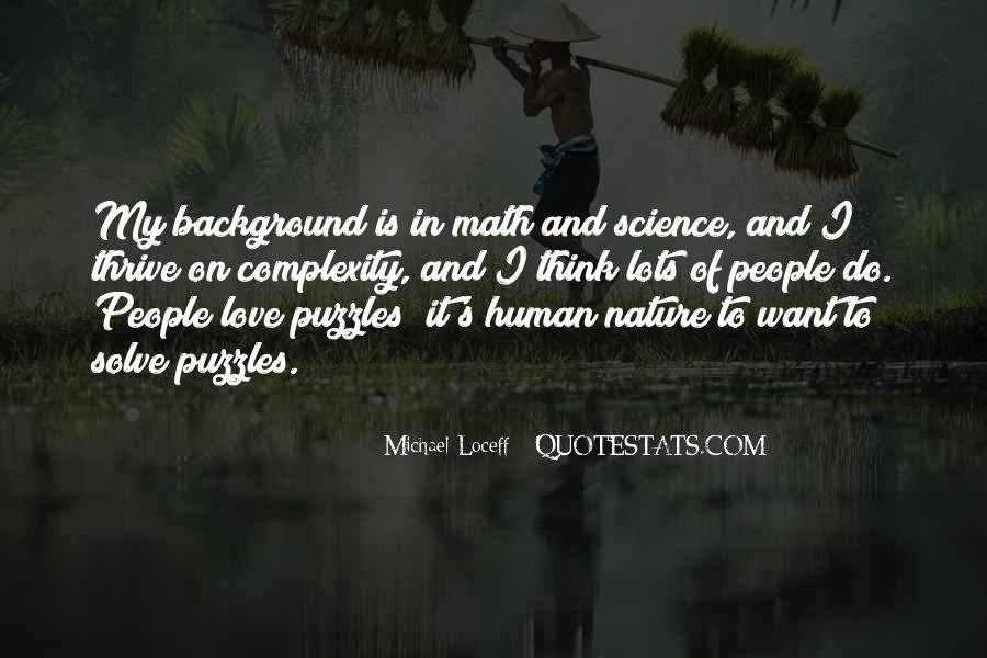 Man In Nature Quotes #3727
