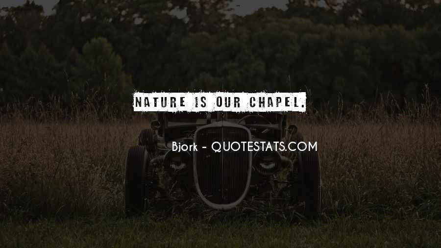 Man In Nature Quotes #5677