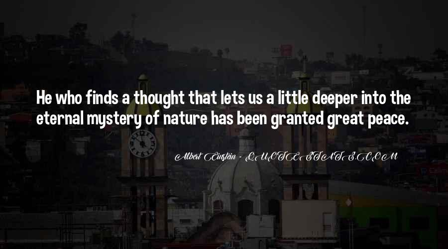 Man In Nature Quotes #6605
