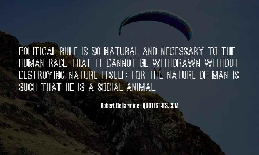 Man In Nature Quotes #7305