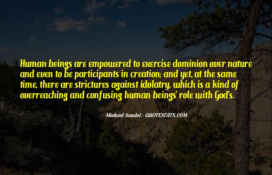 Man In Nature Quotes #7842