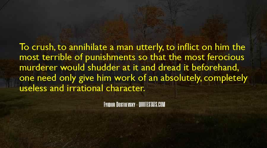 Man Is Irrational Quotes #1307140