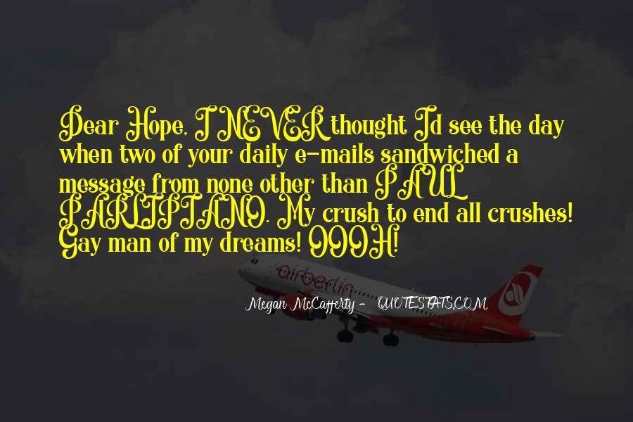 Man Of My Dreams Funny Quotes #1197178