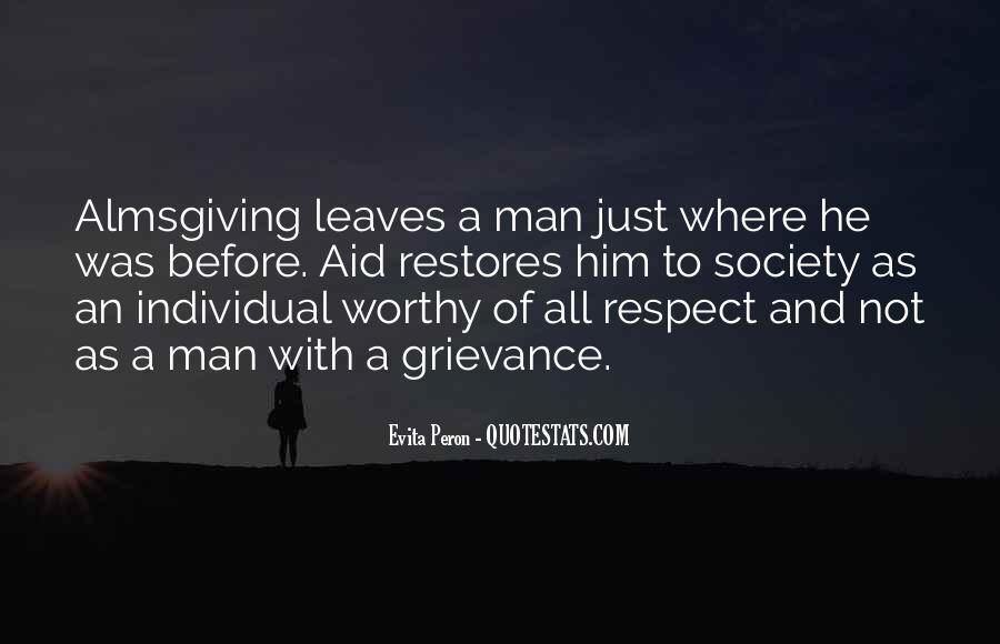 Man Of Respect Quotes #102615
