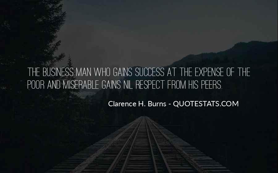 Man Of Respect Quotes #13629