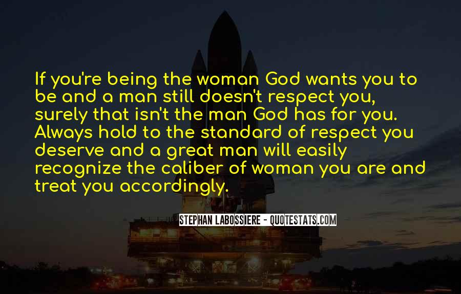 Man Of Respect Quotes #194186