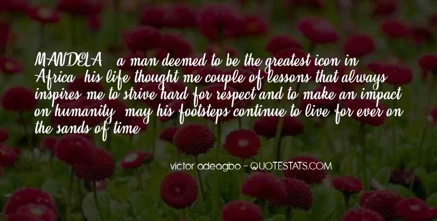 Man Of Respect Quotes #278079