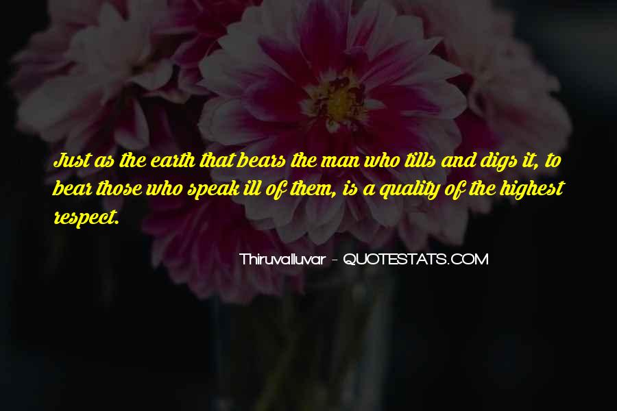 Man Of Respect Quotes #315716