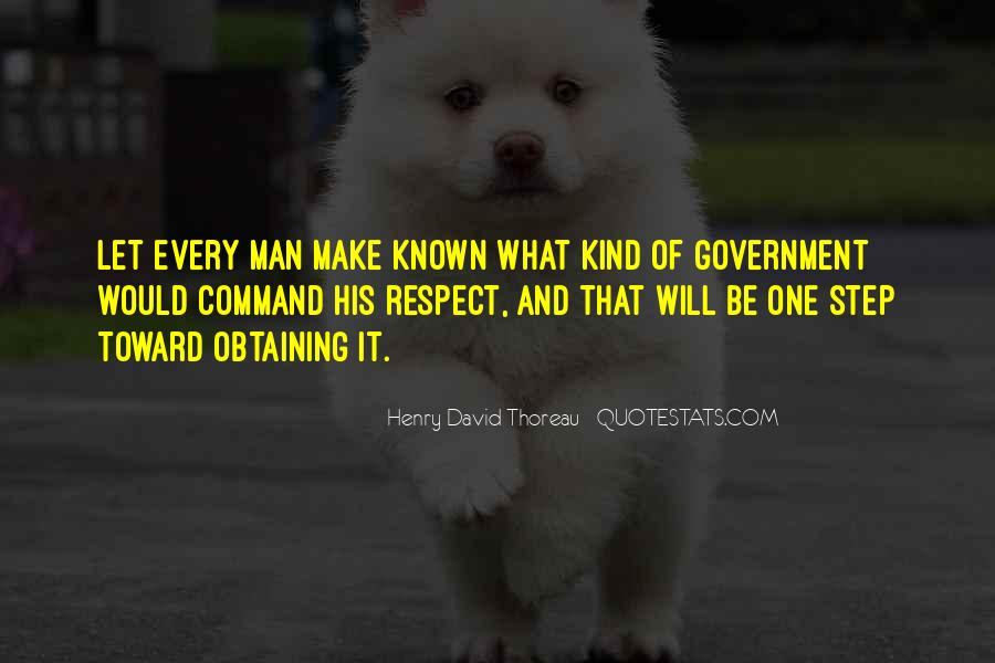 Man Of Respect Quotes #365008