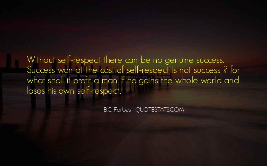 Man Of Respect Quotes #382220