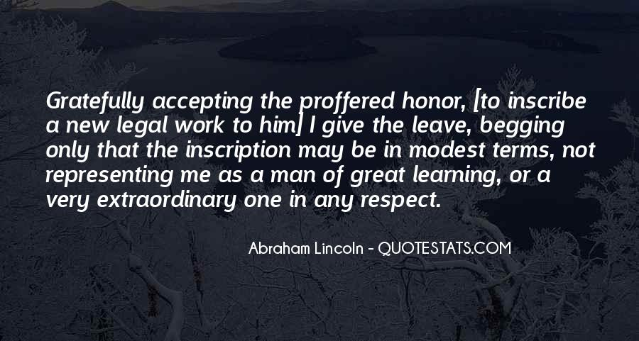 Man Of Respect Quotes #392035