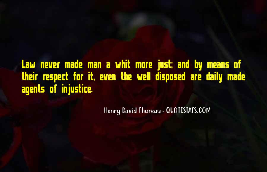 Man Of Respect Quotes #43074