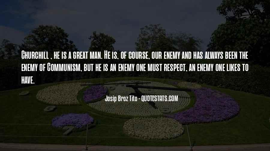 Man Of Respect Quotes #538605