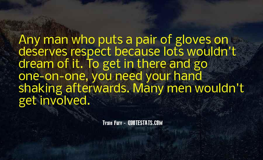 Man Of Respect Quotes #549918