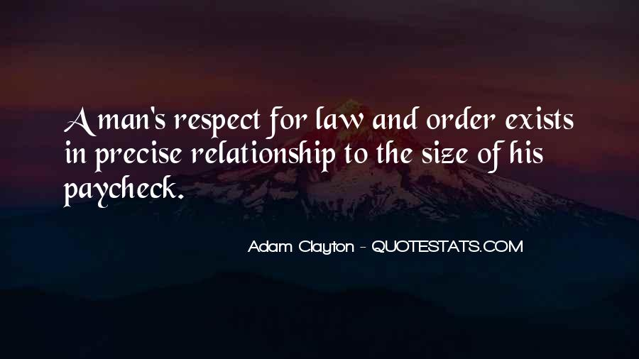 Man Of Respect Quotes #568417