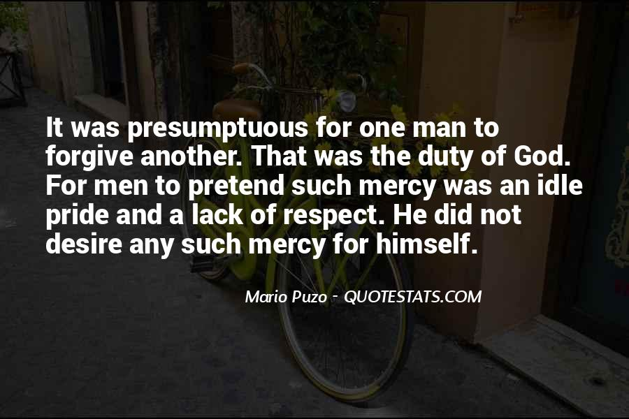 Man Of Respect Quotes #632129
