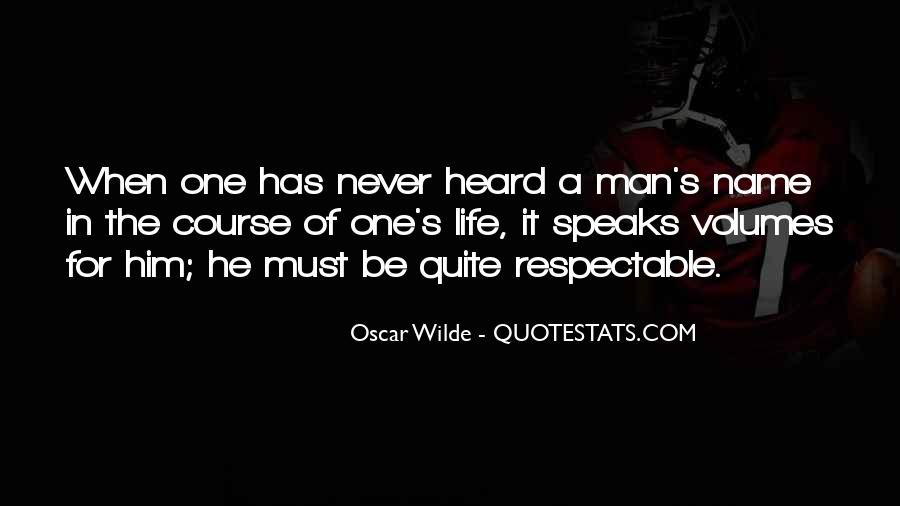 Man Of Respect Quotes #731841