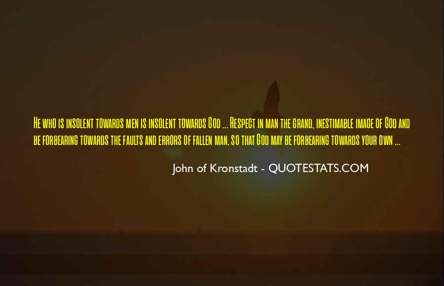 Man Of Respect Quotes #86182