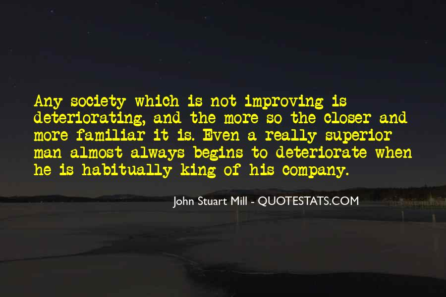 Man Superior Quotes #108696