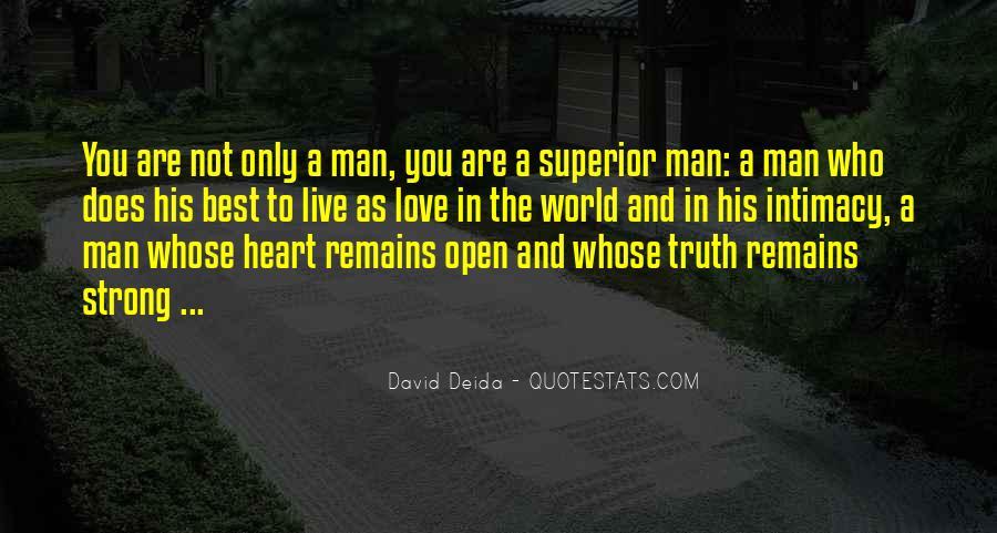 Man Superior Quotes #147514