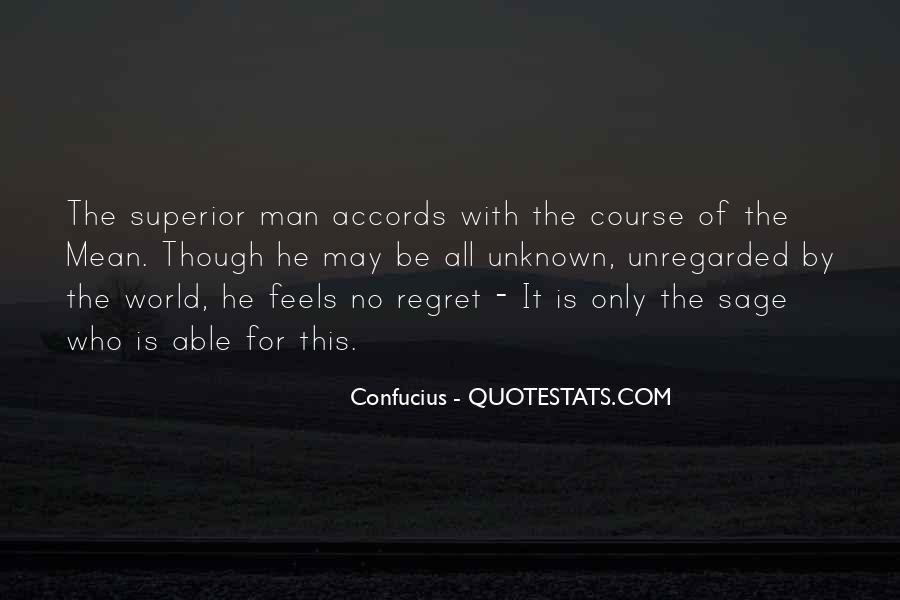 Man Superior Quotes #165119