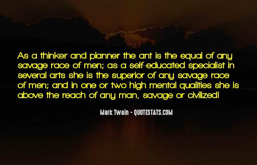 Man Superior Quotes #178514