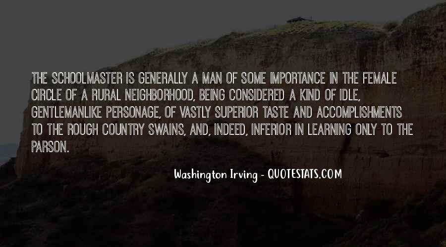 Man Superior Quotes #229783