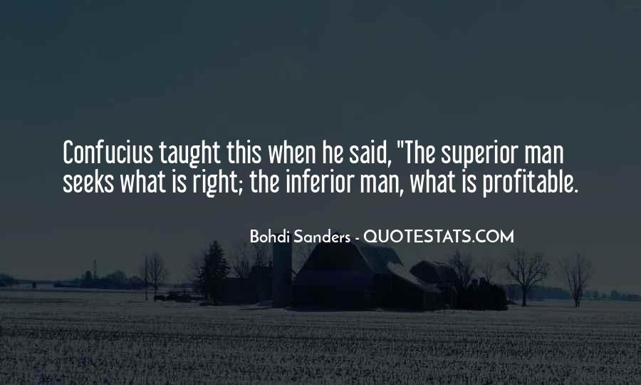 Man Superior Quotes #23777