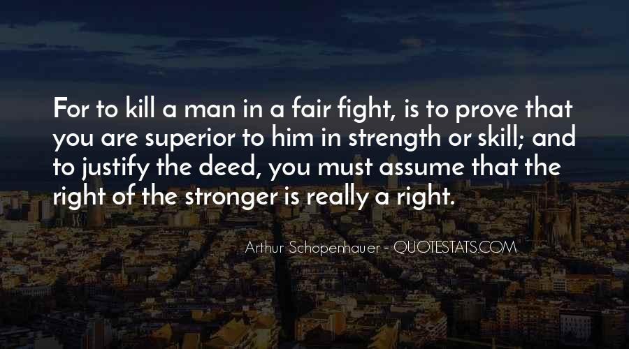 Man Superior Quotes #247649