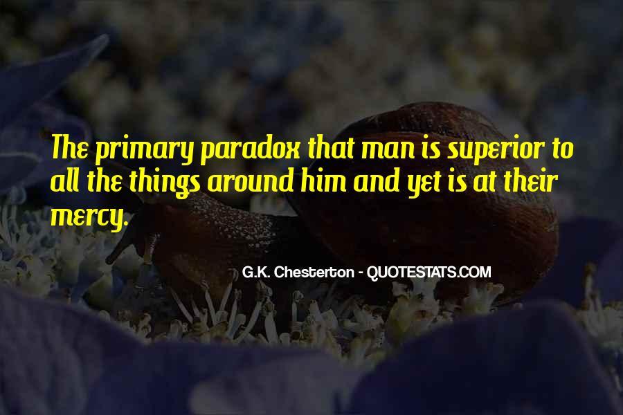 Man Superior Quotes #25460