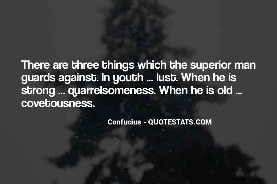 Man Superior Quotes #291029